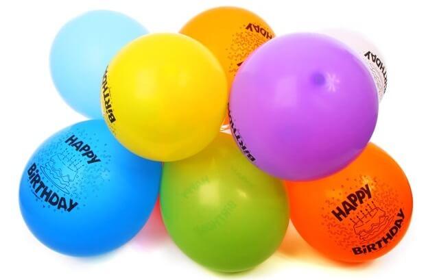 Baloniki urodzinowe