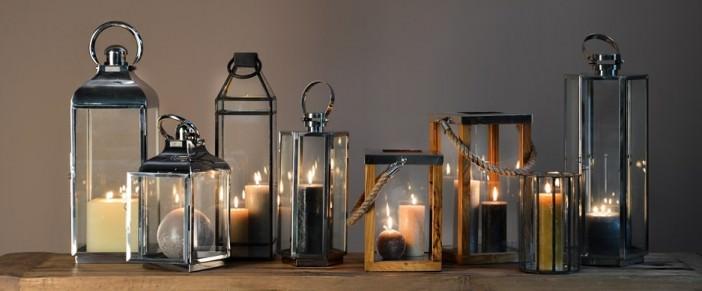 Lampiony w starym stylu