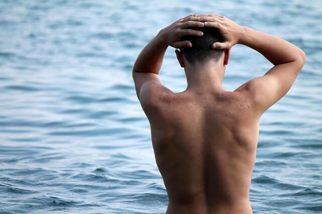 Kąpiel morska doskonale działa na skórę