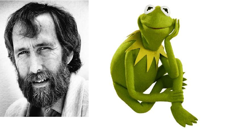Jim Henson i Kermit