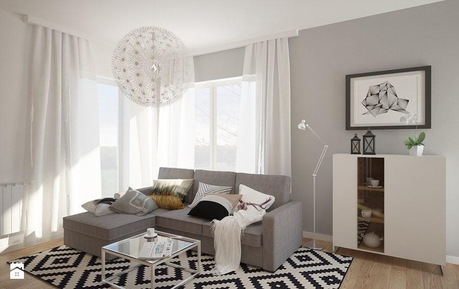 nowoczesne dekoracje okien