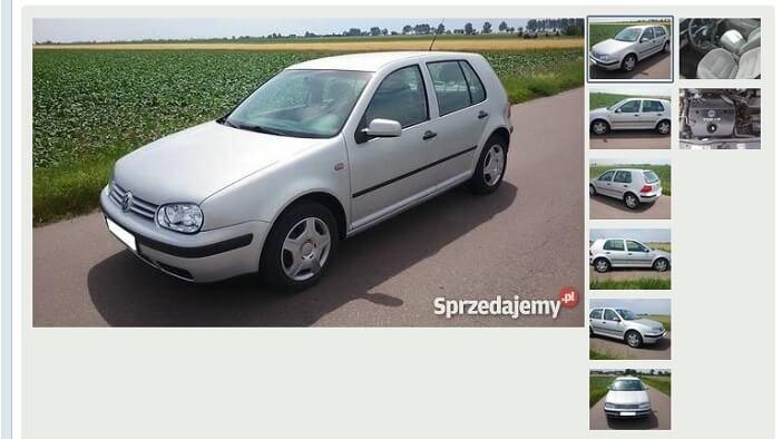 zdjęcia samochodu