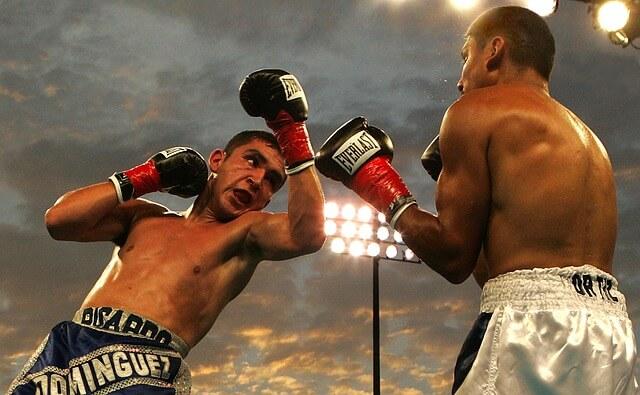 walka bokserska