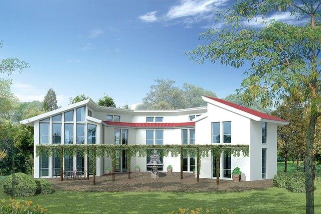biała willa, dom jednorodzinny
