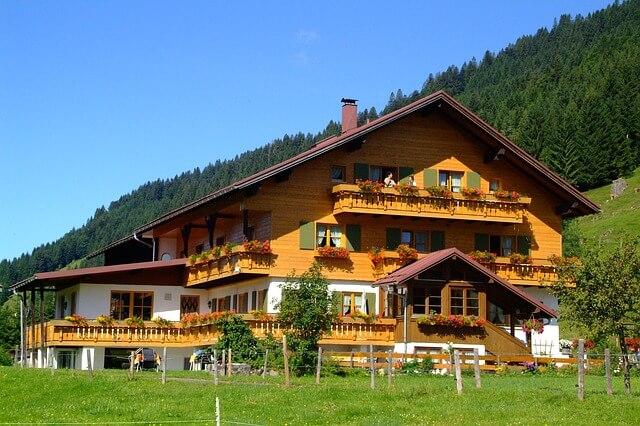 pensjonat w górach