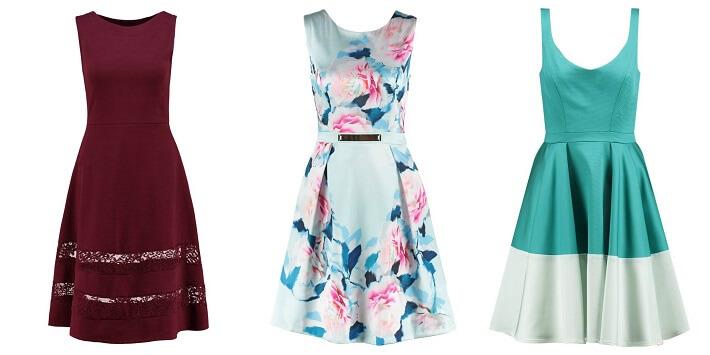 Modne wzory i kolory sukienek na wesele