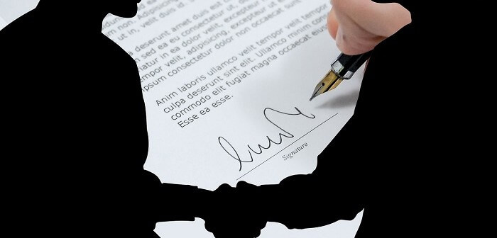 Podpisanie umowy o wynajem mieszkania