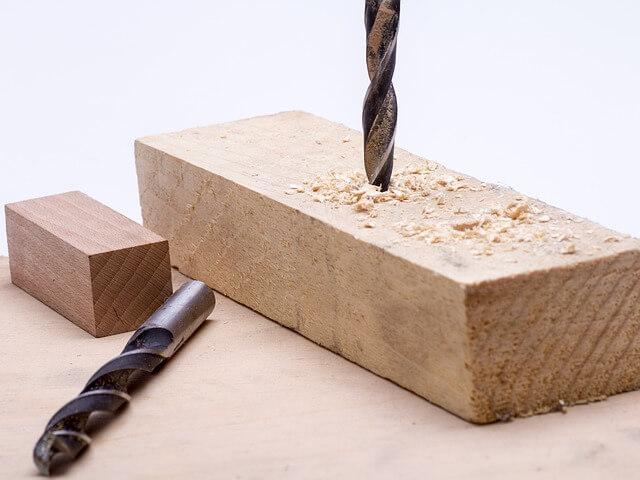 wiercenie w drewnie