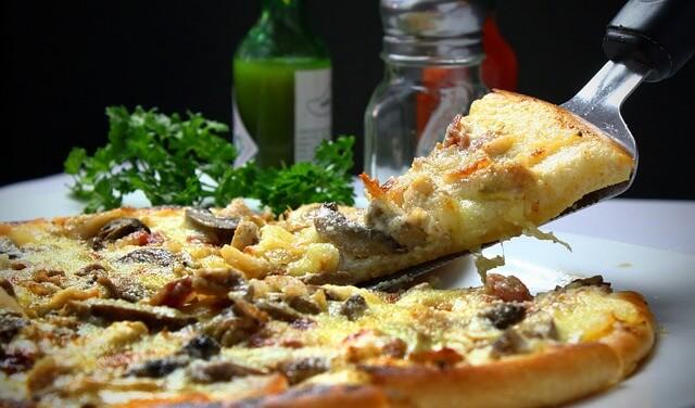 wykwintna pizza