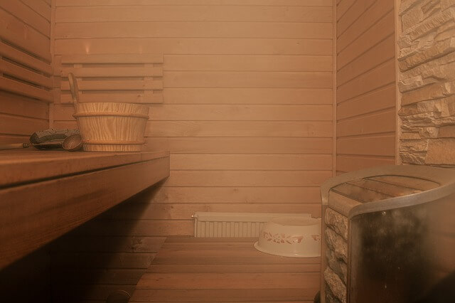 przestronna sauna