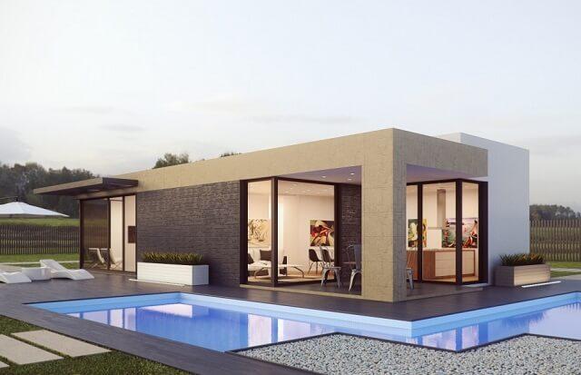 Dom modułowy