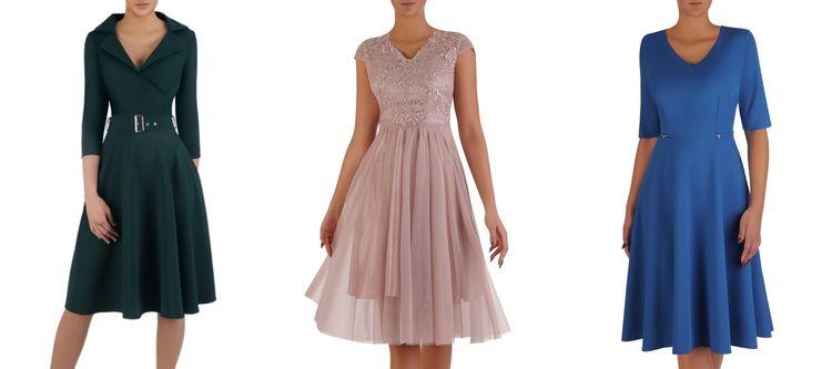 Sukienki wyszczuplające