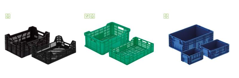 Skrzynki plastikowe