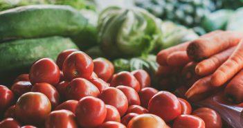 Pomidory, marchew, cukinia