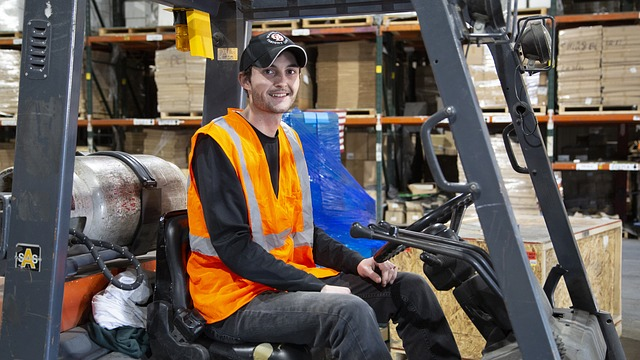 operator wózka widłowego