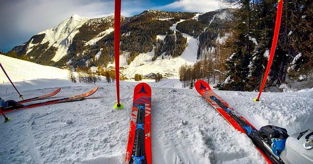 narty w górach